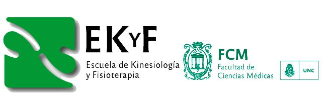 Escuela de Kinesiología y Fisioterapia Logo